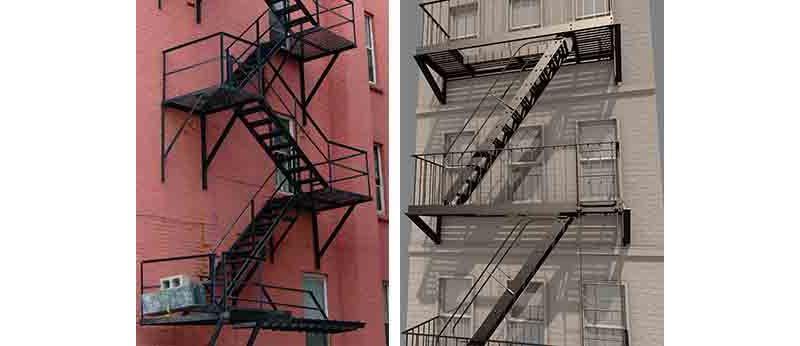 Быстрый монтаж наружных пожарных лестниц в Москве
