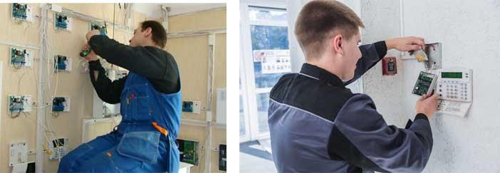 Монтаж и наладка охраной сигнализации и оборудования в Москве недорого