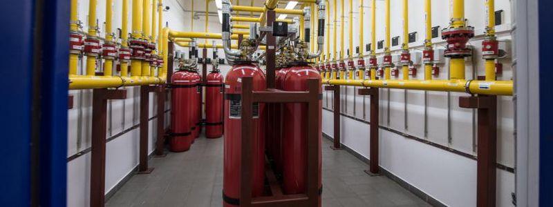 Техническое обслуживание систем газового пожаротушения в Москве