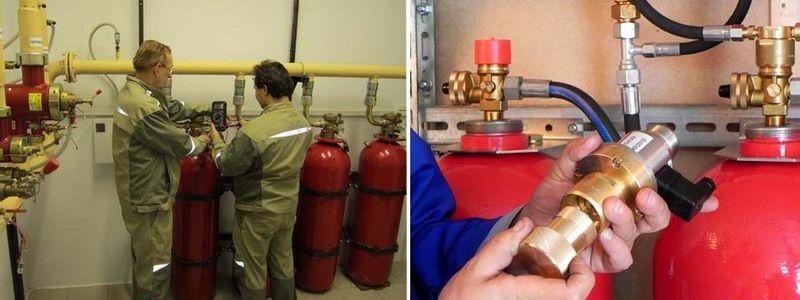 Заказать плановое ТО систем газового пожаротушения в Москве