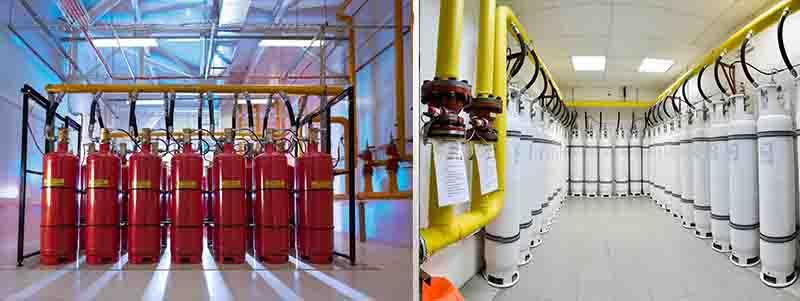 Проекты газовой системы пожаротушения