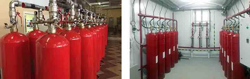 Проектирование газовой системы пожаротушения в Москве