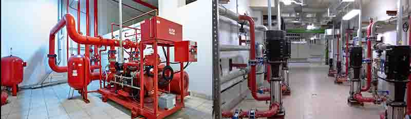 Проектирование систем пожаротушения в Москве