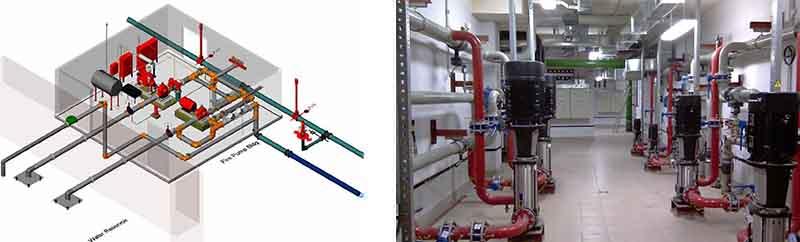 Разработка проекта спринклерной системы пожаротушения в Москве
