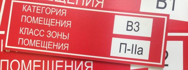 Расчеты категории пожарной безопасности помещений - заказать в Москве
