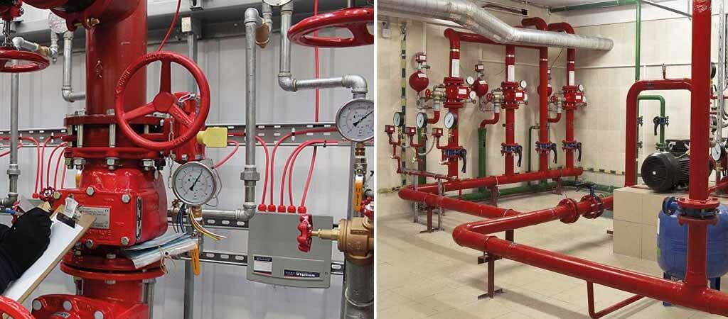 Ремонт пожарного водопровода в Москве