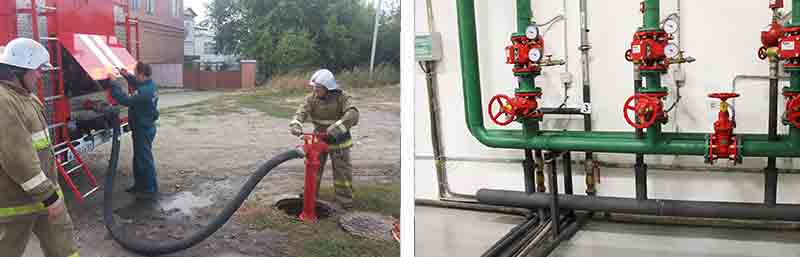 Проведение оперативного ремонта пожарного водопровода в Москве