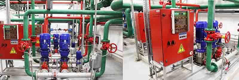Техническое обслуживание систем водяного пожаротушения в Москве