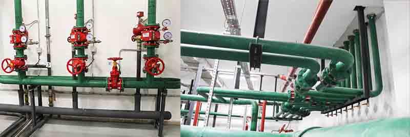 Заказать работы по техническому обслуживанию систем водяного пожаротушения в Москве