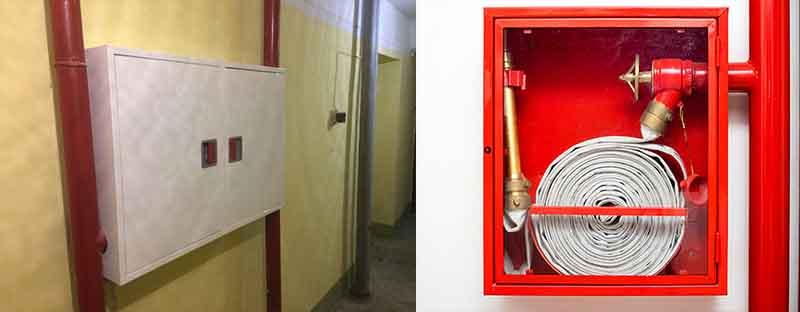 Заказать установку пожарных шкафов в Москве недорого